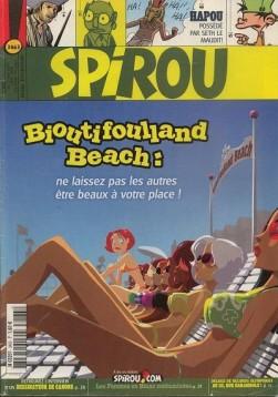 Bioutiffouland: première couverture de Spirou sur une histoire de Zidrou © Arthur De Pins