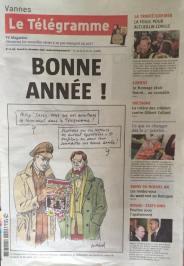 © André Juillard dans le Télégramme