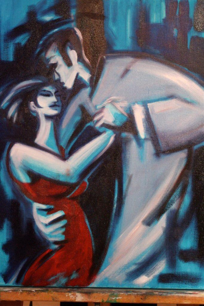 """Une pièce de la série """"Tango tango"""" © Étienne M"""