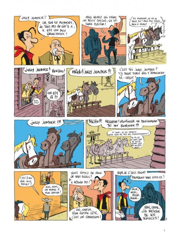 La planche finale © Guillaume Bouzard/Philippe Ory chez Lucky Comics