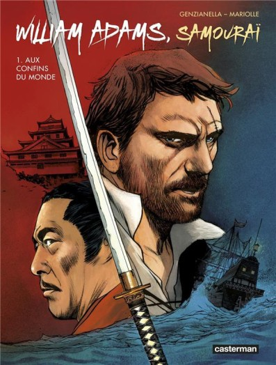 william-adams-samourai-mariolle-genzianella-alquier-couverture