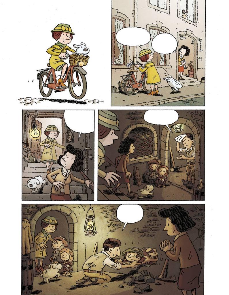 Extrait du tome 2 ©Morvan/Tréfouël/Evrard/Walter
