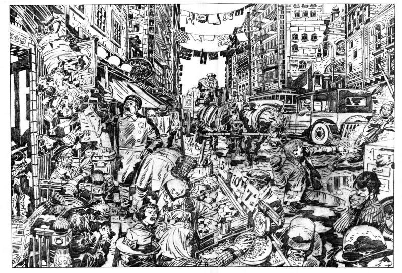 Jack Kirby dans Street Code