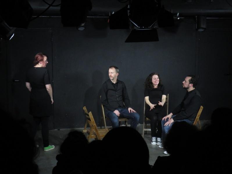 Marie-Pierre Thomas, Patrick Spadrille, Peggy Green et Ron Wisnia © Alexis Seny