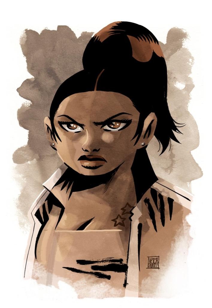 © Runberg/Santos chez Glénat Comics