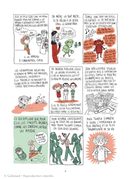 © Bagieu chez Gallimard BD