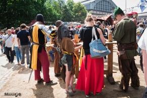 25ème Marché Médiéval d'Etterbeek @ Cinquantenaire 04/06/2017
