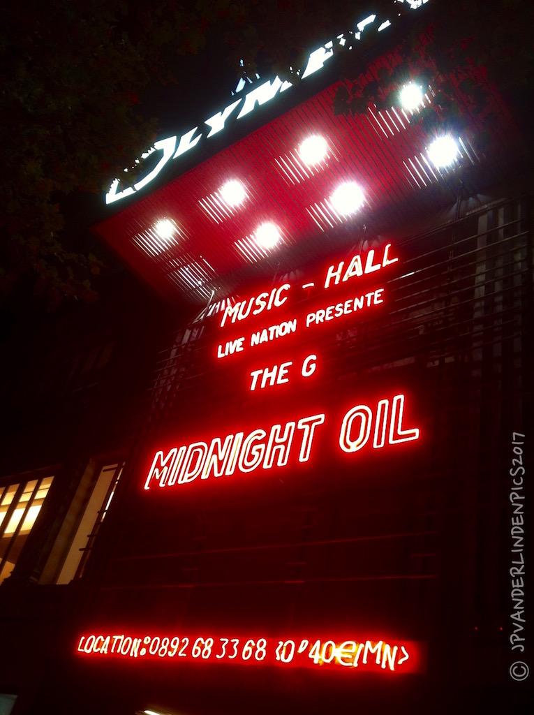 Midnight Oil © Jean-Pierre Vanderlinden
