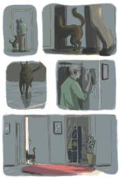 Couleurs d'une première version © Aude Mermilliod