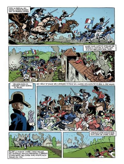 Rubén a aussi illustré un autre épisode napoléonien, Waterloo pour le journal Spirou