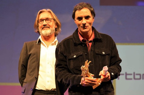Martin Provost avec Samuel Benchetrit (Bayard d'Or du Meilleur Film)