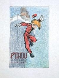 L'édition prestige © Sente/Verron chez Dupuis