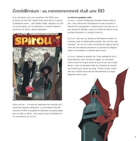 Zombillénium Art par De Pins/Tornicelli/Viry-Babel © Dupuis