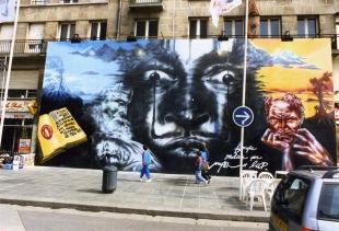 Une fresque à Valencienne © Olivier Mégaton
