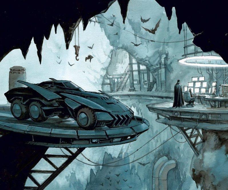 Deux intrus à l'Olympe. Batman-the-dark-prince-charming-tome-1-enrico-marini-batcave-hardcover