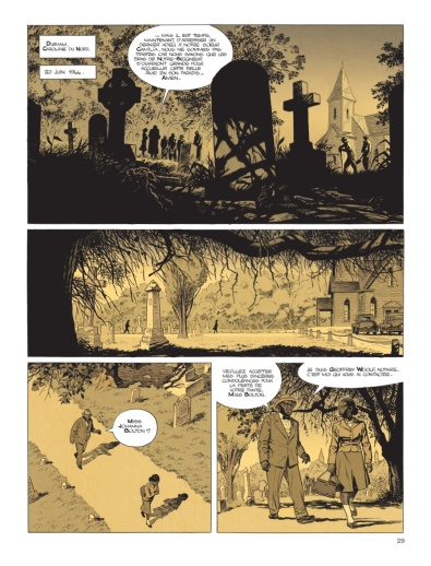 Cinq branches de coton noir - Yves Sente - Steve Cuzor - p.21