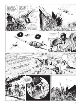 Cinq branches de coton noir - Yves Sente - Steve Cuzor - version noir et blanc - p.3