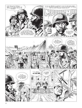 Cinq branches de coton noir - Yves Sente - Steve Cuzor - version noir et blanc - p.4