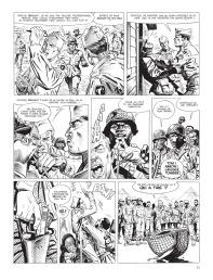 Cinq branches de coton noir - Yves Sente - Steve Cuzor - version noir et blanc - p.5