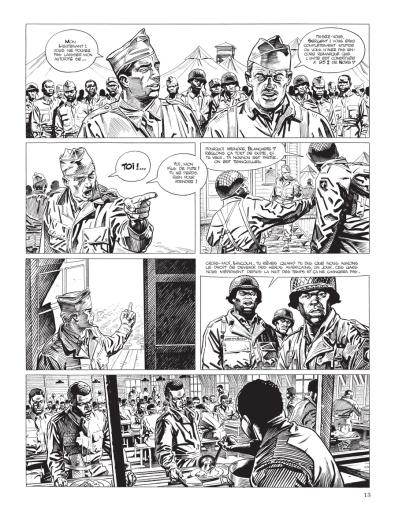 Cinq branches de coton noir - Yves Sente - Steve Cuzor - version noir et blanc - p.7