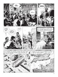 Cinq branches de coton noir - Yves Sente - Steve Cuzor - version noir et blanc - p.9