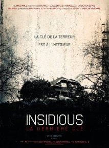 Insidious 4 - la dernière clé affiche 4
