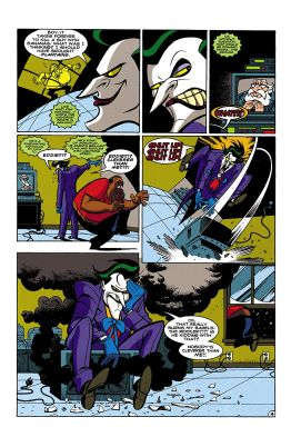 © Templeton/Harkins/Burchett/Medley chez DC Comics