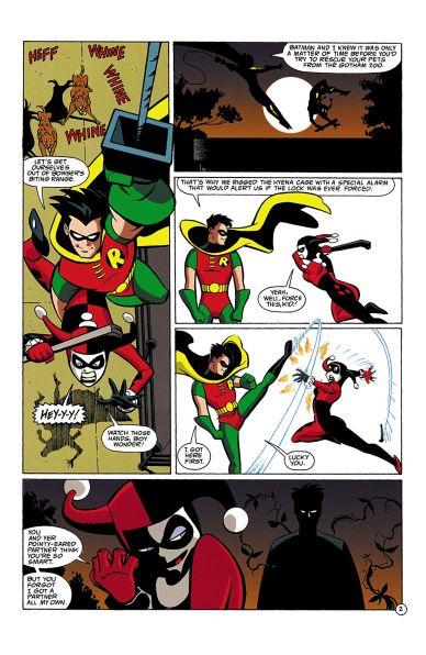 © Dini/Templeton/Burchett/Medley chez DC Comics