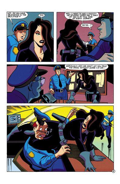 © Templeton/Kruse/Burchett/Loughridge chez DC Comics