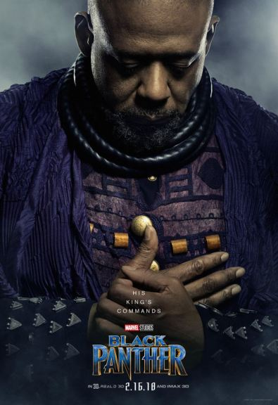 Black Panther - Ryan Coogler - affiche 6 - Forest Whitaker