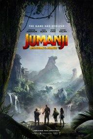 Jumanji - Bienvenue dans la jungle - Dwayne Johnson - Jack Black - Kevin Hart - Karen Gillan - affiche dos