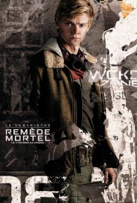 le labyrinthe 3 - remede mortel - Wes Ball - Thomas Brodie-Sangster - affiche