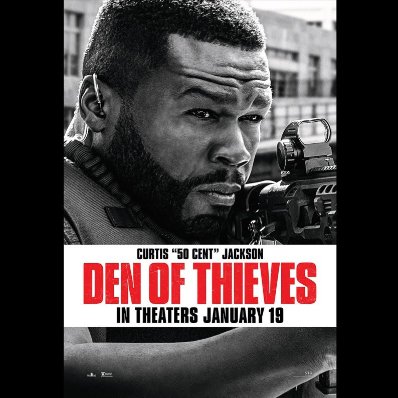 Criminal Squad - Den of Thieves - affiche - Curtis Jackson - 50 Cent