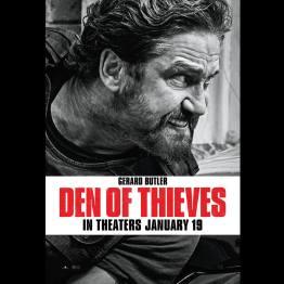 Criminal Squad - Den of Thieves - affiche - Gerard Butler