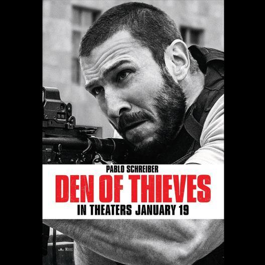 Criminal Squad - Den of Thieves - affiche - Pablo Schreiber