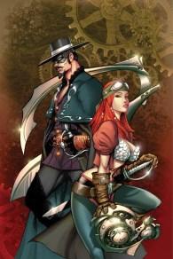 Legenderry - L'aventure Steampunk - crossover - Bill Willingham - joe benitez - zorro - cover 7