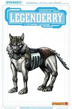 Legenderry - L'aventure Steampunk - crossover - Bill Willingham - Sergio Fernandez Davila - charac design - devil - chien mécanique