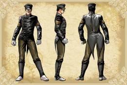 Legenderry - L'aventure Steampunk - crossover - Bill Willingham - Sergio Fernandez Davila - charac design - le frelon vert - Kato
