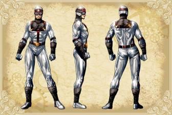Legenderry - L'aventure Steampunk - crossover - Bill Willingham - Sergio Fernandez Davila - charac design - Silver star