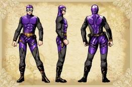 Legenderry - L'aventure Steampunk - crossover - Bill Willingham - Sergio Fernandez Davila - charac design - Steve Austin - Le fantome