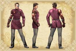 Legenderry - L'aventure Steampunk - crossover - Bill Willingham - Sergio Fernandez Davila - charac design - Steve Austin - L'homme qui valait trois milliards