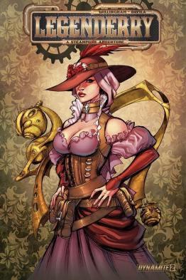 Legenderry - L'aventure Steampunk - crossover - Bill Willingham - Sergio Fernandez Davila - couverture deluxe