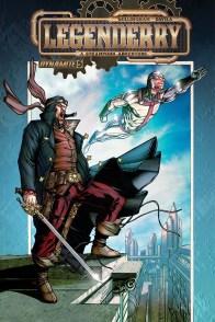 Legenderry - L'aventure Steampunk - crossover - Bill Willingham - Sergio Fernandez Davila - cover flash gordon - silver star