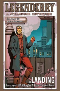 Legenderry - L'aventure Steampunk - crossover - Bill Willingham - Sergio Fernandez Davila - cover flash gordon