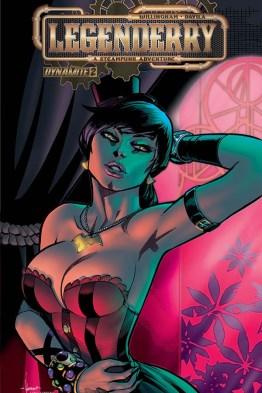 Legenderry - L'aventure Steampunk - crossover - Bill Willingham - Sergio Fernandez Davila - cover pin-up