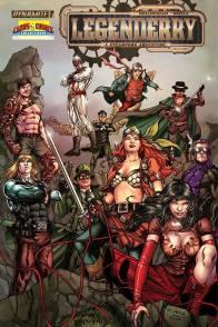Legenderry - L'aventure Steampunk - crossover - Bill Willingham - Sergio Fernandez Davila - ivan nunes - legenderry - casting 2