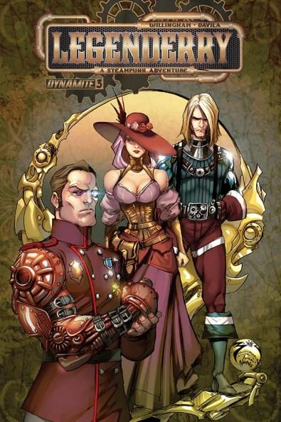 Legenderry - L'aventure Steampunk - crossover - Bill Willingham - Sergio Fernandez Davila - ivan nunes - legenderry - cover 3