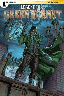 Legenderry - L'aventure Steampunk - crossover - Bill Willingham - Sergio Fernandez Davila - legenderry green hornet 1