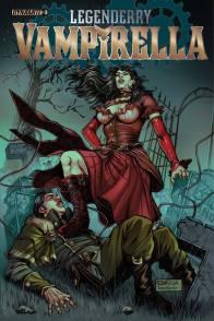 Legenderry - L'aventure Steampunk - crossover - Bill Willingham - Sergio Fernandez Davila - legenderry vampirella