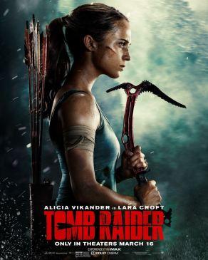 Tomb Raider - Lara Croft - film 2018 - Roar Uthaug - Alicia Vikander - affiche 3